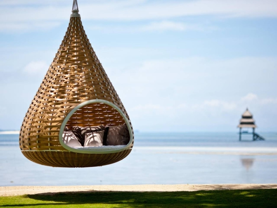 hammock in the Philippines.