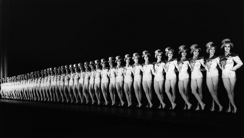The Rockettes at Radio City Music Hall